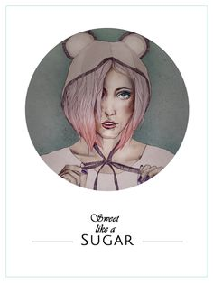 Illustration #drawing #sugar #sweet