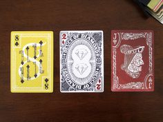 Stranger & Stranger's Ultimate Deck contribution by Joseph Alessio #print #cards #playing