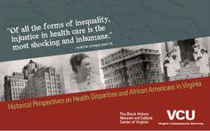 VCU Health Disparities Postcard