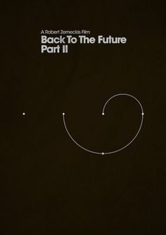 ShootTheGlass — Back To The Future Part II #infographics #the #back #pos #posters #minimal #movies #future #to