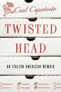 Twisted Head #cover #book #pizza