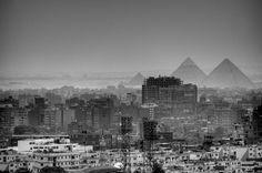 Cairo, Egypt #white #cairo #egypt #black #photography #and