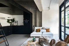 living room / Bureau Fraai + BNLA Architecten