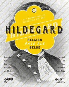 Boquébière Hildegard #beer #bottle #label #packaging