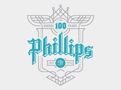 Phillips design by Sam Soulek #logo #phillips #logotype #soulek