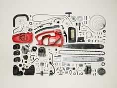Objects Completely Disassembled by Todd McLellan