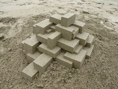 Geometric Sandcastles by Calvin Seibert #90 #perfect