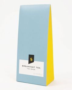 Selfridges Tea #packaging #bag #tea