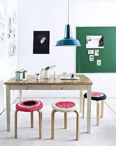 scandinavian deko green chalkboard #interior #design #decor #deco #decoration