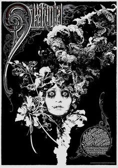 Mondo: The Blog #dracula #print #aaron #horkey #poster #zouravliov #vania