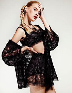 Sojourner Morrell & Sofya Titova by Jem Mitchell for Vogue Turkey #sexy #model #girl #photography #fashion