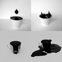 5_Spilt_Blacks.jpg (image) #white #black #minimal #and #contrast