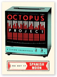 SCOTT CAMPBELL #octopus #retro #project #poster