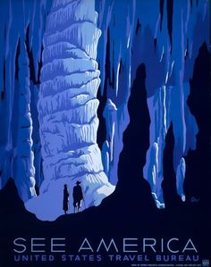 Paint by Nature: Inspiration and influence #america #cave