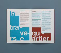 David Mamie & Nicola Todeschini #typography #layout #spread