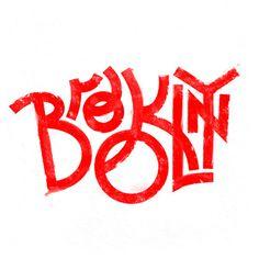 "Designersgotoheaven.com New print in shop: ""Brooklyn NY"", by @AndreiRobu. #logo #brooklyn"