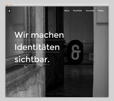 Betty und Betty Designbüro #website #layout #design #web