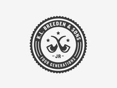 Dribbble - K.L. Breeden & Sons by Ryan Feerer