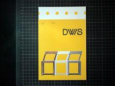 Graphical House - Derek Welsh Studio #branding #print #logo #identity #stationery #type