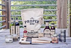 Proper BBQ : Lovely Package . Curating the very best packaging design. #packaging