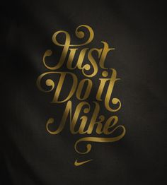 Nike T-shirt designs by Mats Ottdal #nike #typography