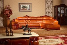 Wall colours for a brown sofa warm caramel #sofa #living #furniture #brown #room