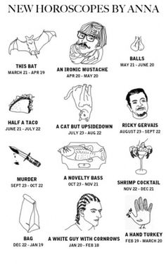 No More Cheeky Freak Of The Week #horoscopes #effington #tumblr #anna