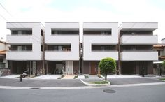 Dezeen » Blog Archive » Numbers House by Mitsutomo Matsunami Architect & Associates #architecture #house #japan #number #osaka #mitsutomo