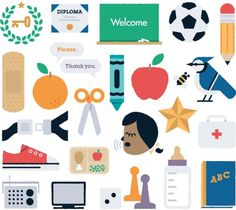 Design;Defined | www.designdefined.co.uk #icon #school #illustration #kids #childrem
