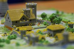 Detail view II | Flickr - Photo Sharing! #model #printing #minecraft #3d