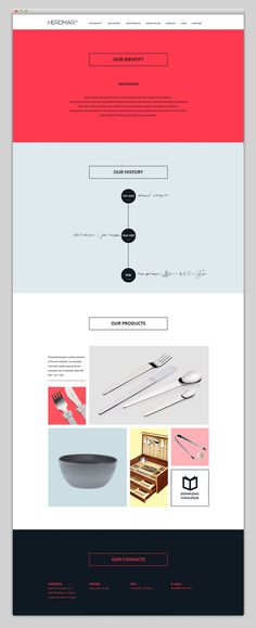 Websites We Love — Showcasing The Best in Web Design #cutlery #agency #designs #design #best #website #ui #minimal #webdesign #web #herdmar #typography