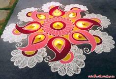 Unique Diwali Rangoli Designs