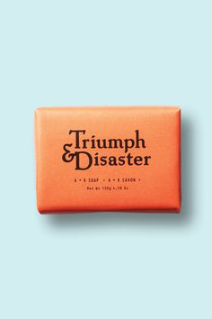 Triumph & Disaster A+R Soap $14.95 Almond Milk & Rosehip oil Soap.
