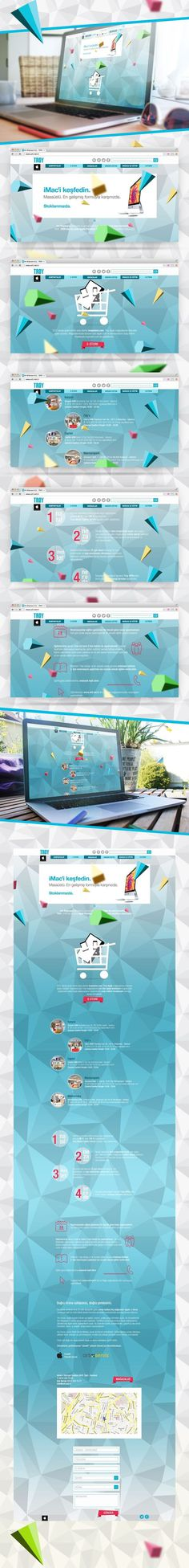 Fresh parallax design #website #parallax #web design #microsite