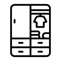 See more icon inspiration related to closet, locker, furniture and household, lockers and wardrobe on Flaticon.