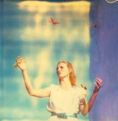 "Saatchi Art Artist: Stefanie Schneider; C type 2012 Photography ""Haley and the Birds, Edition of 10"" #photography #art"