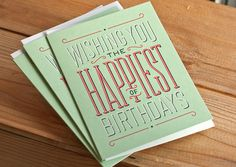 Happiest_2 #type #design #cards