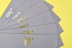 Intra Desarrollos by Firmalt #brand design #stationary