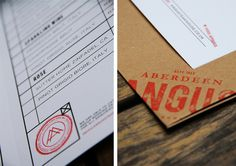 Aberdeen Angus Re-Brand #branding