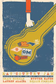 A Showcase of Creative Gig Posters 1 #poster #gig poster