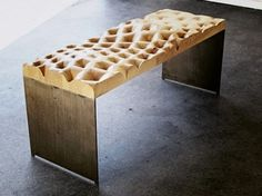 Cool Hunting: Design #wood #design #bench