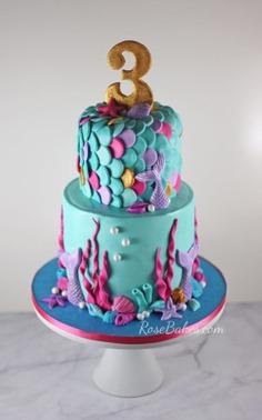 13+ Mermaid Cakes & Party Ideas - ,birthday,birthday cake designs,birthday cake ideas,birthday cake ideas 2019,BIRTHDAY CAKE IMAGES,birthday cake pic,birthday cake with photo,cake pictures,cakes,Mermaid,mermaidbirthday,mermaidparty