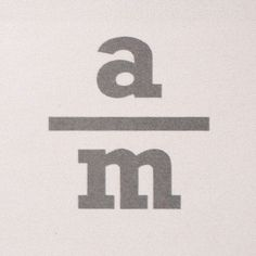 All sizes | Andreas Mikkelsen | Flickr - Photo Sharing! #logotype #design #logo #scandinavian #stacked #type #typography