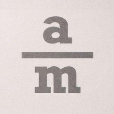 All sizes | Andreas Mikkelsen | Flickr - Photo Sharing! #logotype #design #logo #scandinavian #stacked #type #typography