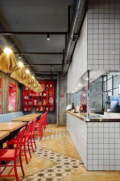Hot Walk Cafe by ALLARTSDESIGN 2