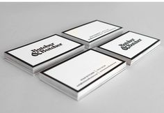 OUR STATIONERY Butcher & Butcher ltd — Brand — Design — Digital #cards #business