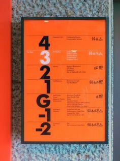 Wayfinding & signage | Cartlidge Levene #signage #type #typography