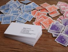 Present Yourself in a Unique Way. Memorable Business Cards. #card #stamp #business