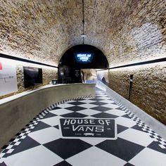 house of vans london indoor skatepark designboom #die #skate #or