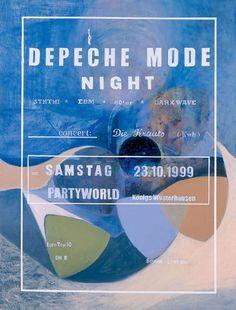 Depeche Mode Night – Lucy McKenzie #lucy mckenzie #art #painting #found #depeche mode